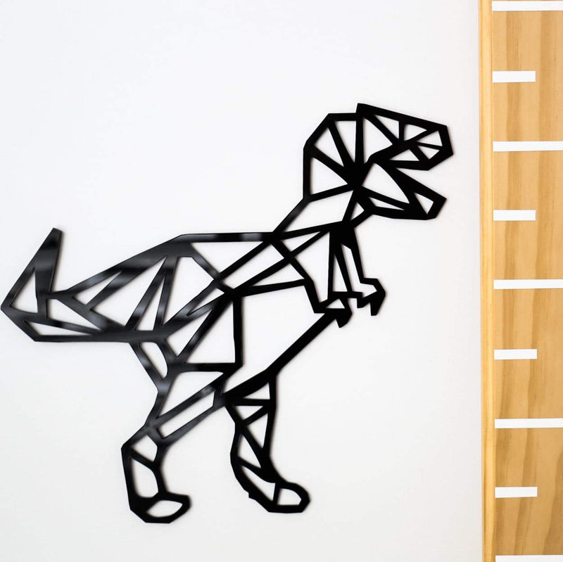 T-Rex Geometric Wall Decal-Geometric Wall Decal-CMC Gold