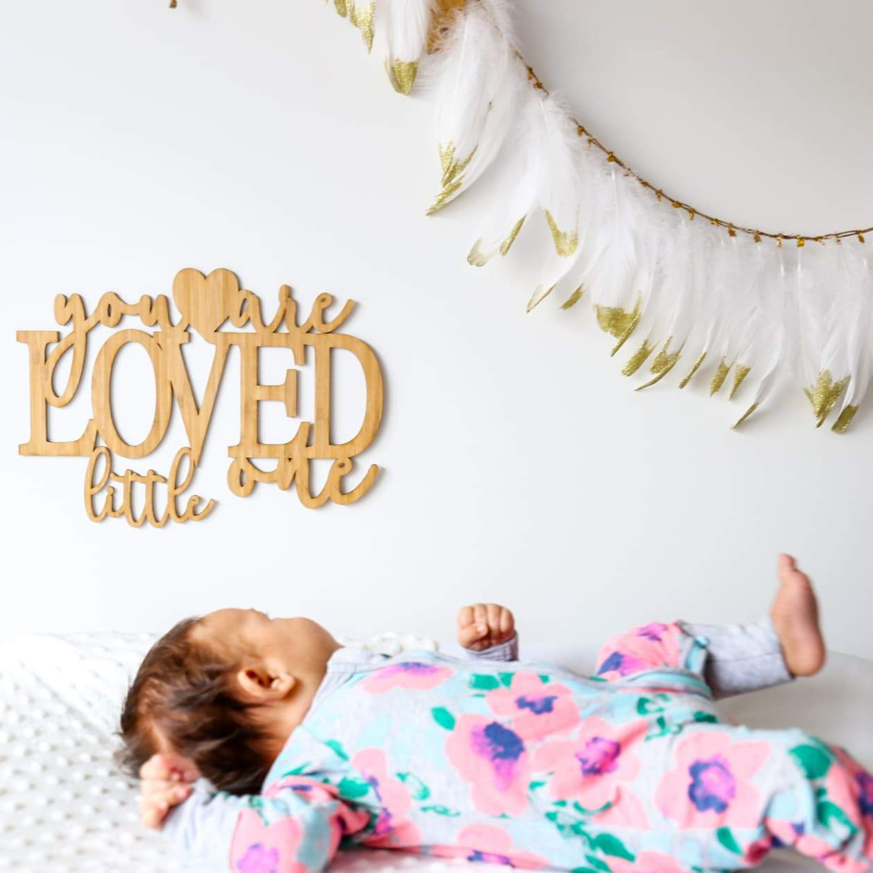 You Are Loved Little One Quote Decal-Quote Decal-CMC Gold