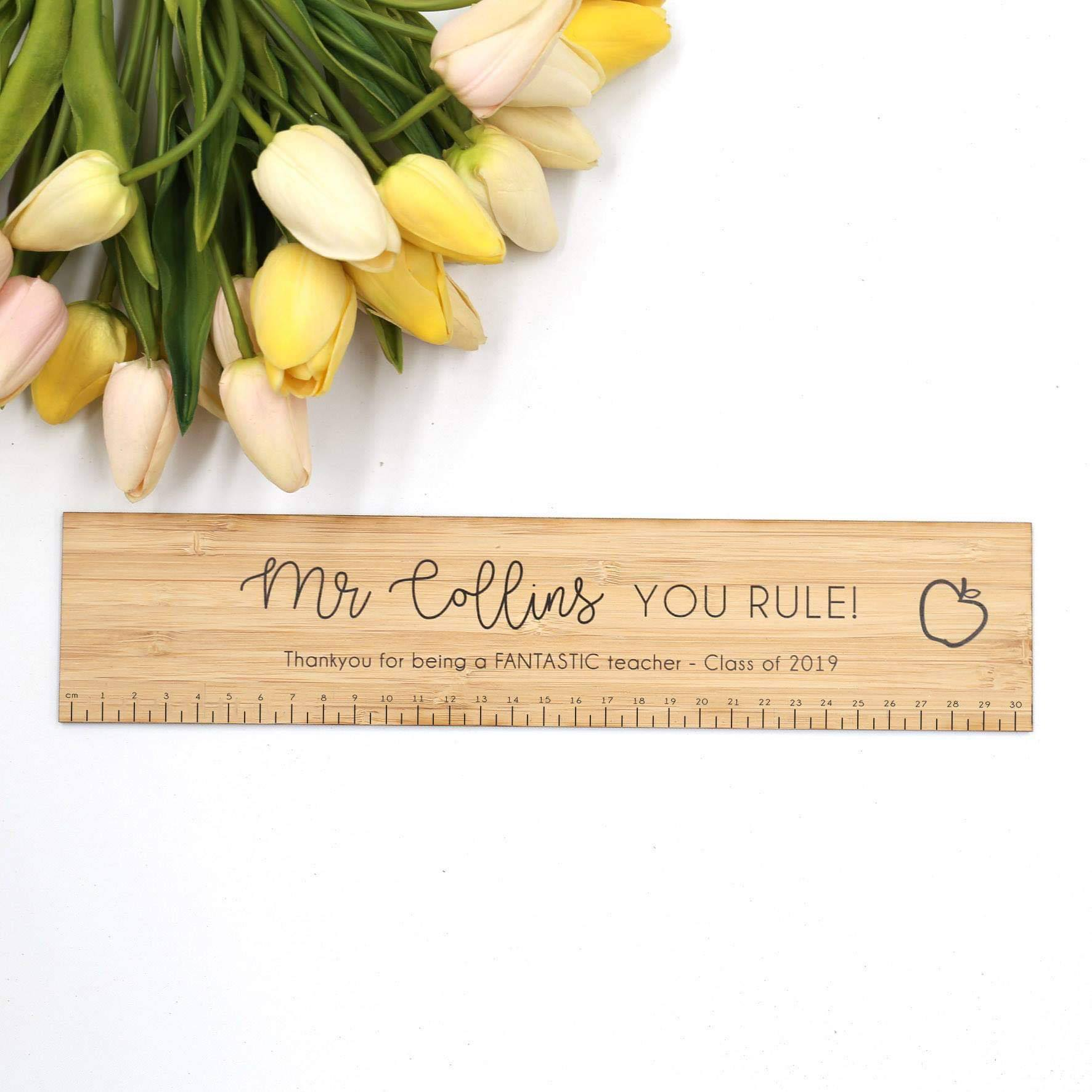 You Rule! Ruler-Teacher's Gifts-CMC Gold