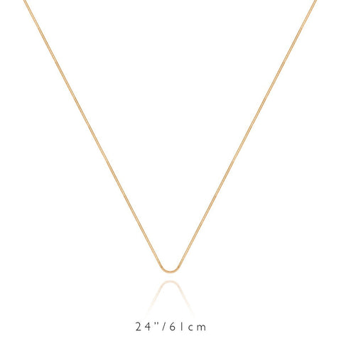 Long Chain Necklace (Gold)