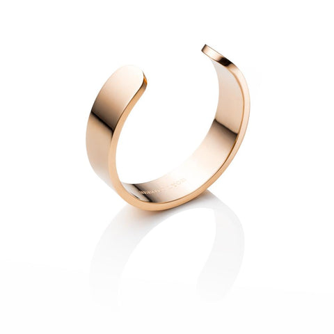 Chunky Cuff Bangle (Gold)