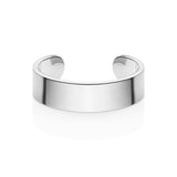 Chunky Cuff Bangle (Silver)