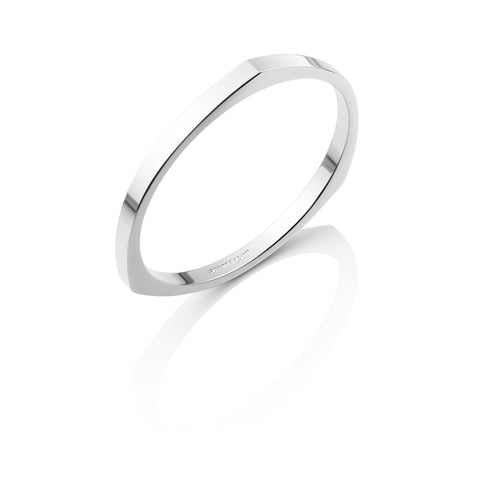Droplet Bangle (Silver)