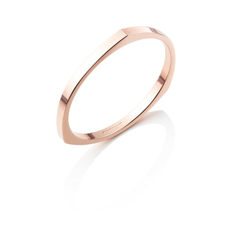 Droplet Bangle (Rose Gold)