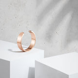 Chunky Cuff Bangle (Rose Gold)