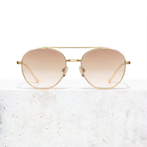Gold Taupe Faded Vita Sunglasses