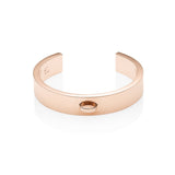 Luna Small Circle Charm (Rose Gold)