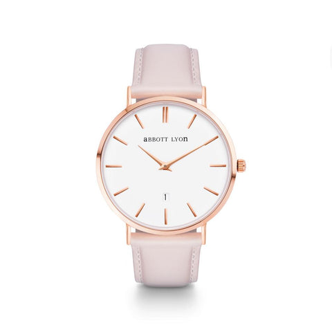Nude Pink Leather Kensington 40 (Rose Gold)