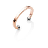 Ball Bangle (Rose/Silver)