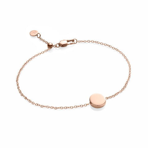 Little Luxe Disc Bracelet (Rose)