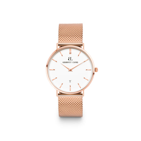 Rose Gold Chain Kensington 34 (Rose Gold)