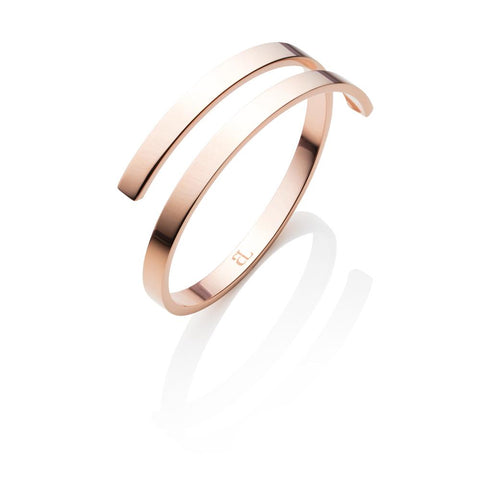 Entwine Bangle (Rose Gold)
