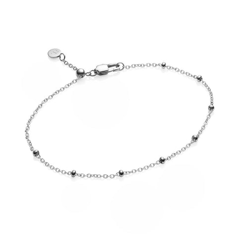 Little Luxe Mini Sphere Bracelet (Silver)