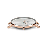 Metallic Rose Gold Minimale 38 (Rose/White)