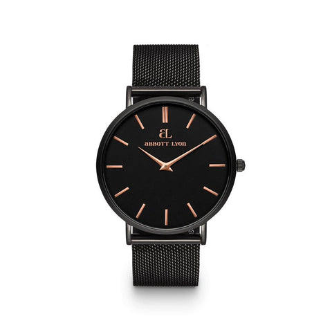 Black Chain Stellar 40 (Black Rose Gold)