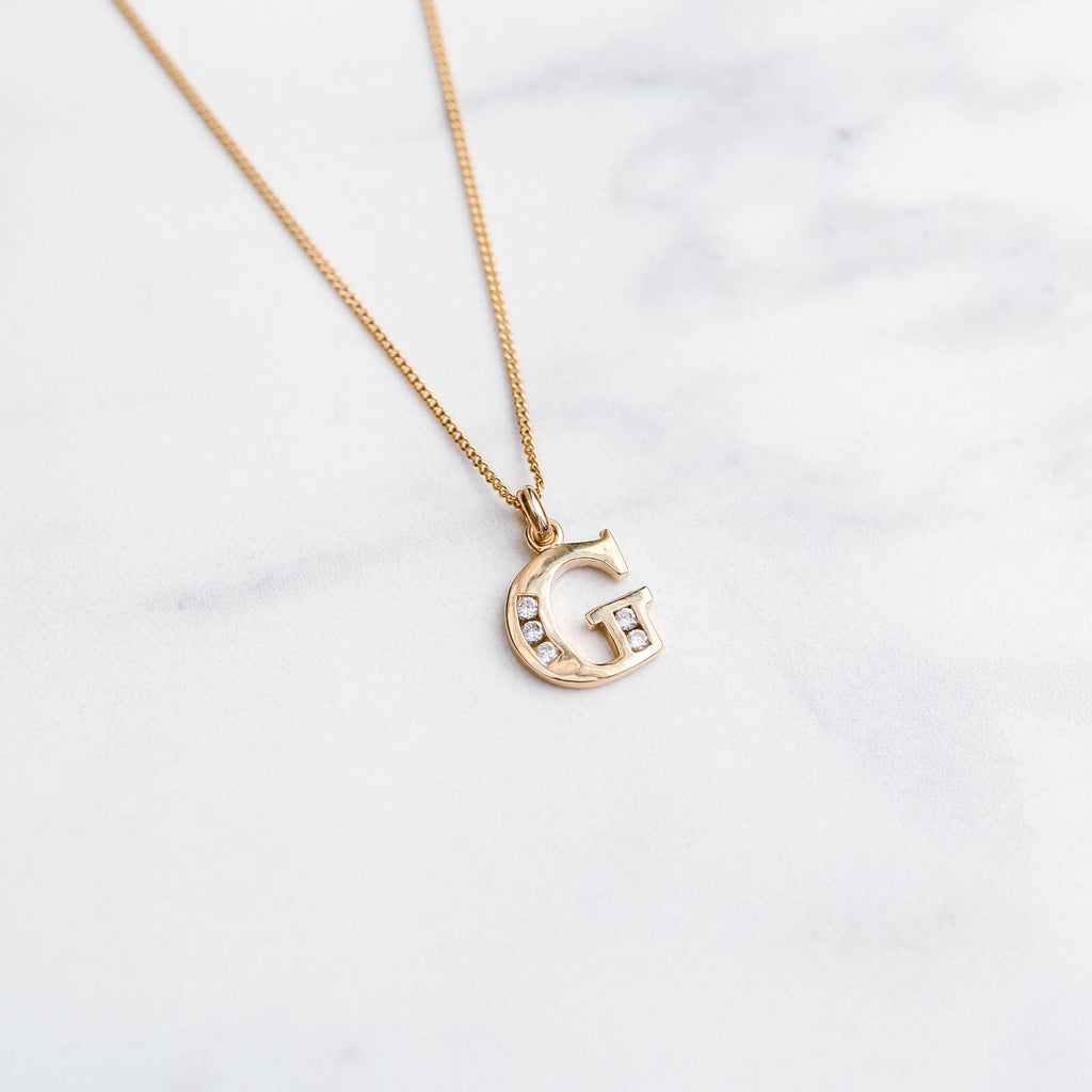 Valentina Initial Necklace