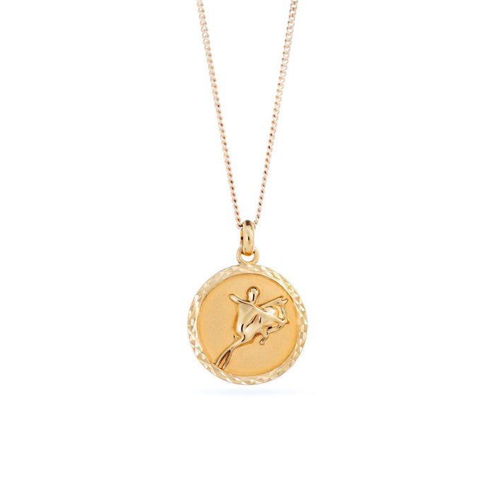 Zodiac Medallion I Necklace