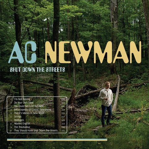 A.C. Newman - Shut Down The Streets