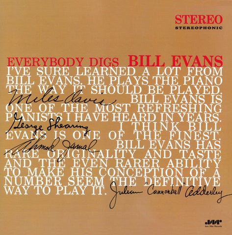 Bill Evans - Everybody Digs Bill..