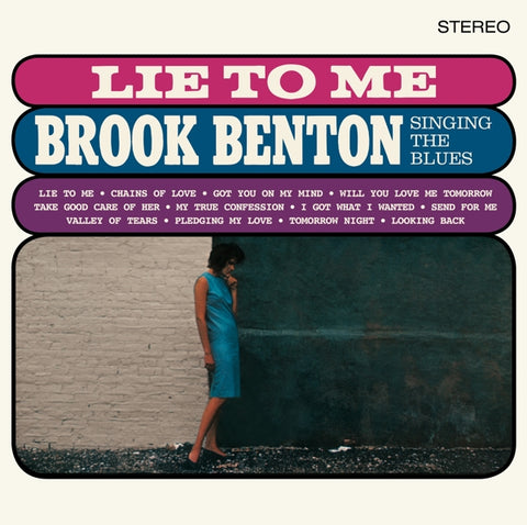 Brook Benton - Lie To Me: Brook..