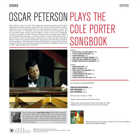 Oscar Peterson - Plays The Cole..