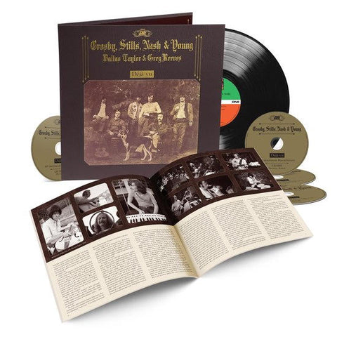 Crosby, Stills, Nash 7 Young - Deja Vu (1LP+4CD)