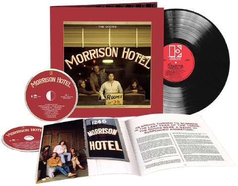 Doors - Morrison Hotel (50th Ann Edition)  (1LP+2CD)