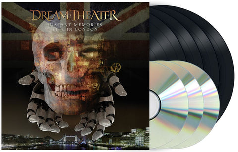 Dream Theater - Distant Memories Live in London  (4LP+3CD)
