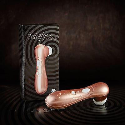 Satisfyer Pro 2 Clitoral Stimulator Suction Pressure Wave