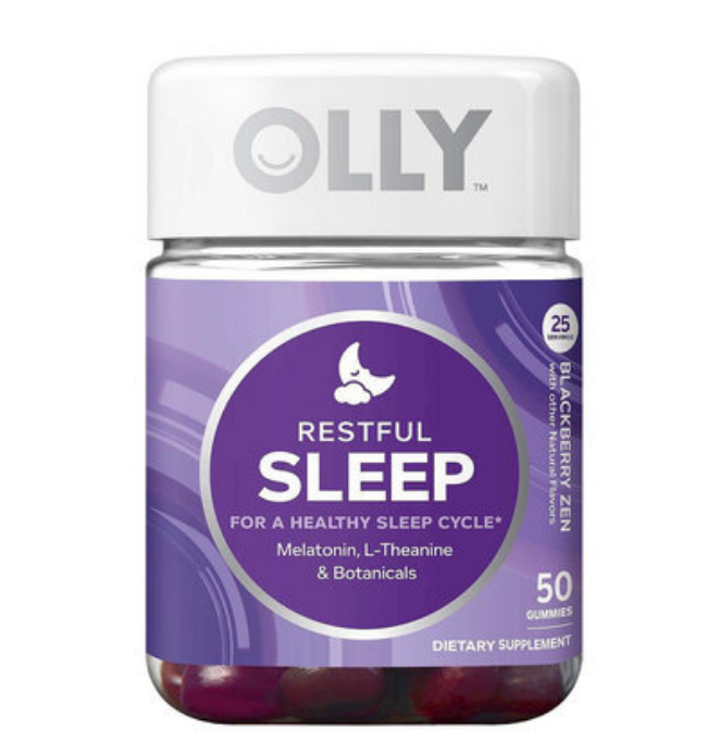 "Ever Want To Sleep Like Sleeping Beauty? The ""Hangover Free""Olly Sleep Aid Gummies!"