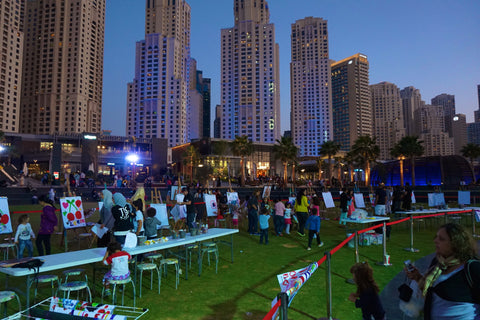 A Fun little Event they had going on at the Jumeriah Beach Boardwalk