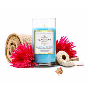 Tahitian Dream - Tropical Floral Jewel Candle