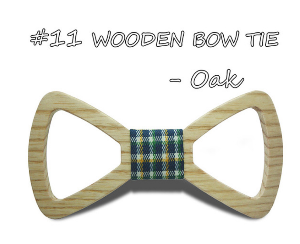 Men's Hand-Made Wooden Bow Ties- Business/ Groom New Style!