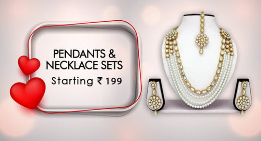 Pendants & Necklace Sets-Starting  199