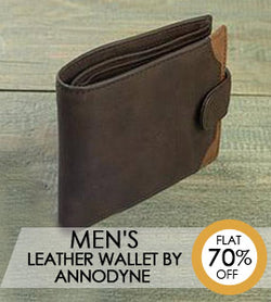 Men's Leather Wallet By ANNODYNE
