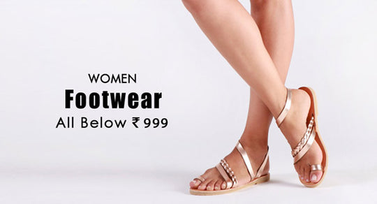 Women Footwear  :  All Below 999/-