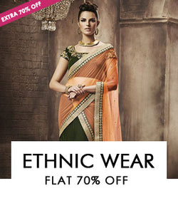 ETHNIC WEAR-Suits,Sarees,Kurti,Lehenga & More