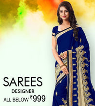 Designer Sarees- All Below 999/-