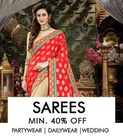 Sarees-Designer,Printed,Embroidered & Partywear