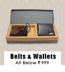 Belts & Wallets : All Below 999/-