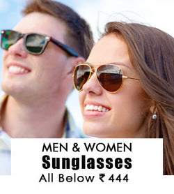 Sunglasses for Men & Women  :  All Below 444/-