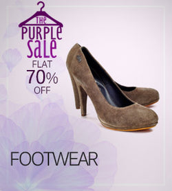 Women Footwear_Purple Sale