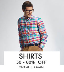 Cotton Shirts - Casual & Formal