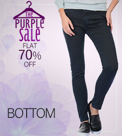 Women bottom wear_Purple sale