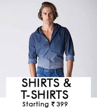 Shirts & T-shirts - For Mens