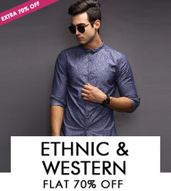 ETHNIC & WESTERN-Shirts,T-shirt & Bottoms