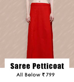 Saree Petticoat : All Below 999/-