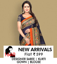 16TO60TRENDZ-Bhagal Puri,chanderi & Georgette Sarees-Flat 599