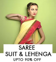 Saree, Suit & Lehenga - Upto 90% off