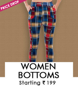 Women Bottoms-Jeggings,Palazzo, SareePetticoat & More